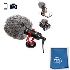Boya BY-MM1 Shotgun Video Microphone for Sony A6000 A5300 A99 A77 A7 A7S RX100