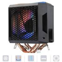 4-Pin CPU Cooler Fan Cooling Radiator Heatsink For AMD/775 /1150/1151/1155/1156