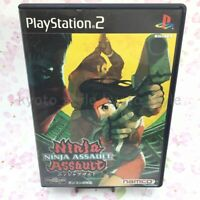 USED PS2 PlayStation 2 Ninja Assault 15227 JAPAN IMPORT