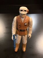 Vintage Rebel Soldier (Hoth) Star Wars Action Figure 1980 Hong Kong - COMPLETE