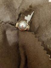 Vintage David Yurman Pearl Ring