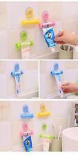 Plastic Rolling Squeezer Toothpaste Dispenser Tube Partner Holder Sucker Hanging