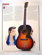 """Affichette ENCORE guitare """"Elvis Presley guitar"""""""