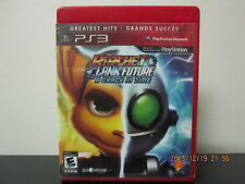 Ratchet & Clank Future: A Crack in Time(Sony Playstation 3,2009)*Tested/Complete