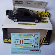 SOLIDO MERCEDES 190 16S 1510 MONROE NOIRE IN BOX 1/43