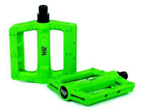 RANT HELLA PEDALS BMX BIKE BICYCLE FIT SE CULT SUBROSA SHADOW DK HARO NEON GREEN