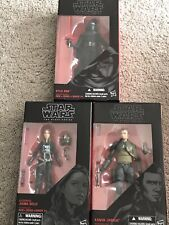 Star Wars Black Series New Jedi Lot Solo REN Kanan