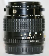 Pentax 645 SMC 135mm f/4 L/S Leaf Shutter Lens