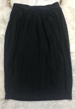Spanx By Sara Blakely Size M Black Skirt Shaping Liner Straight Knee