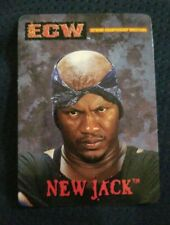 ECW Wrestling 2000 Bash Of The Brawlers NEW JACK Rookie Card RC RARE WWE WCW 2