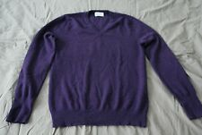 Pull cachemire Éric Bompard Homme Taille M V-neck pullover 100% cashmere MEN M