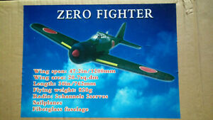 RC zero fighter sailplane fiberglass fuselage slope glider sailplane soaring