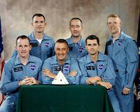 APOLLO 1 MISSION PRIME AND BACK-UP ASTRONAUT CREWS - 8X10 NASA PHOTO (BB-994)