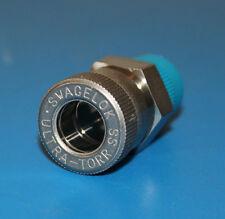 "NEW Swagelok S.Steel Ultra-Torr Vacuum 1/2"" Male Connector x 3/8"", SS-8-UT-1-6"