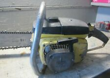 """VINTAGE MCCULLOCH 10-10A CHAINSAW WITH 24"""" BAR"""