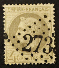 Timbre FRANCE / FRENCH Stamp - Yvert et Tellier n°27A obl (Cyn23)