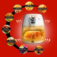 1400W 4.2L Non-Stick Low Fat Cook Deep Fryer Health Food Air Fryer Oil Free