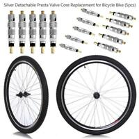 10pcs Detachable Presta Valve Stem Replacement Cores Bicycle MTB Road Bike
