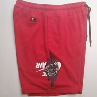 Nike Air Jordan Jumpman Wings Classics Shorts Red Mens BQ8472-687