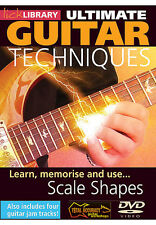 Lick Library Learn MEMORIZE and REMEMBER GUITAR SCALE SHAPES Modes Video DVD