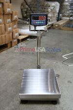 "800 lb Digital Floor 16"" x 21"" Bench Scale Electronic Platform Shipping 400 kg"