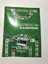 2016 Folder Libretto I Francobolli dei Campioni Scudetti Squadre di Calcio