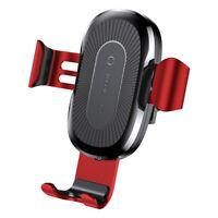 Baseus KFZ Qi Wireless Charger Handy Halterung Ladegerät für Ulefone Power 5