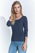 Course Elements Basic Damen Shirt Baumwolle 3/4-Arm