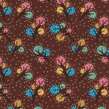 3 yd Woodland Friends Cotton Quilt Fabric Trees Paintbrush Studios Bfab