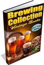 133 RARE VINTAGE BREWING BOOKS DVD - Beer, Cider, Moonshine, Home Brew, Wine