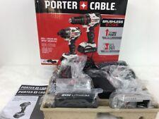 Porter Cable | Brushless Edge | 20V | Drill Driver Impact Driver Kit | PCCK618L2