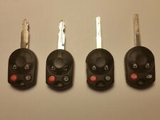 Lot of 4 Ford OEM Used Remote Key Fobs Used