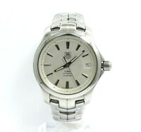 TAG HEUER LINK Calibre 5 WJF2211 Automatic Silver Dial Stainless Steel Watch