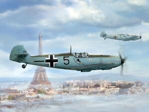 Messerschmitt Bf-109 E-1 1/48 Wingsy Kits plastic kit