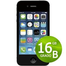 APPLE IPHONE 4S 16GB NEGRO+ACCESORIOS + GARANTÍA 12 MESES REACONDICIONADOS 4 S