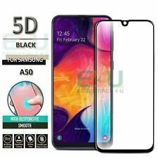Samsung Galaxy A50 Panzer Glas Displayfolie SchutzGlas Tempered Glass 5D Full