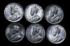 Canada 6x UNC/ BU??  5 Cents 1922, 1923, 1927, 1928, 1936 Re6g-51-463