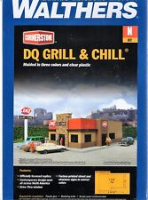N Scale Walthers Cornerstone 933-3846 Dairy Queen DQ Grill & Chill Building Kit