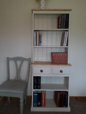 SOLID PINE BOOKCASE IN FARROW AND BALL.