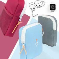 Bag Charger USB Cable Box Travel Headphone Storage Portable Digital Organizer