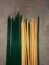 Pot Plant / Garden Stakes - 90cm Milled Bamboo.