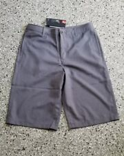 New Under Armour Golf Youth Boys Pockets Adjustable Waist Shorts Pants Large