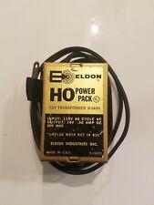 Vintage Eldon HO Power Pack hobby Transformer #3406