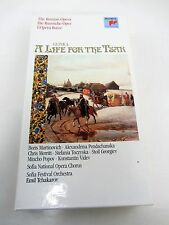 Glinka A LIFE FOR THE TSAR Russian Opera Emil Tchakarov Cassette Box Set   Book
