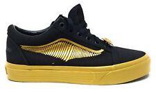 Vans X Adult Old Skool Skate Shoes Harry Potter Golden Black Mens 5.5 / Womens 7