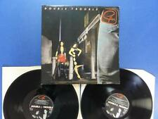 GILLAN  DOUBLE TROUBLE virgin 81 dbl LP EX
