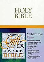 NIV Deluxe Gift and Award Bible Hardcover Zondervan Publishing