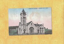 TN Johnson City 1911 antique postcard CHURCH CHRISTIAN  TO EASTON PA SMITH