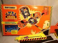 Vintage 1992 Matchbox Crash Dummies Crash Alley Circuit Crash Playset Toy Game