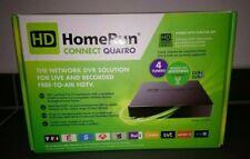 Silicondust HDHomeRun Connect Quatro TV-Tuner - Schwarz